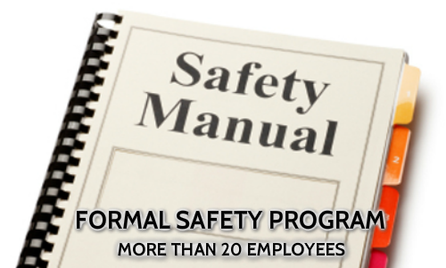 formal informal health and safety programs development worksafebc BC vancouver surrey langley burnaby delta victoria coquitlam port moody maple ridge abbotsford pitt meadows new westminster