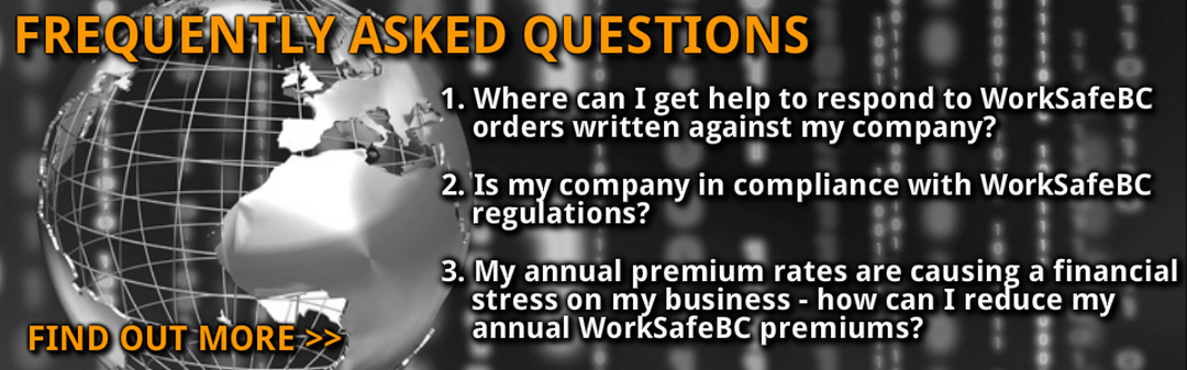 worksafebc premium rates written orders regulation compliance vancouver victoria bc