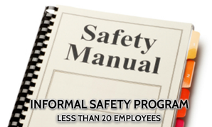 informal ohs safety programs bc